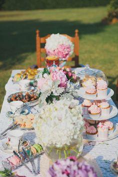 Allure High Tea - Table styling  www.allurehairandbeauty.com