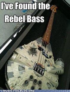 Millennium Falcon Bass!