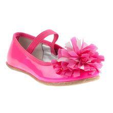 Flower Toe Ballet Flats