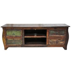 @Overstock - The Samara 4-drawer Plasma entertainment center highlights a stunning multi-colored antique finish. Constructed of reclaimed wood, this entertainment center features a removable center shelf and a 65-inch length.http://www.overstock.com/Home-Garden/Samara-4-drawer-Plasma-Reclaimed-Wood-Multi-color-Entertainment-Center/7647093/product.html?CID=214117 $832.49