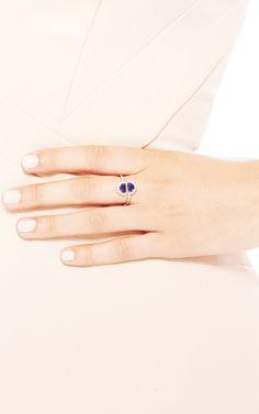 Pompadour Split Ring by Mason Martin Margiela