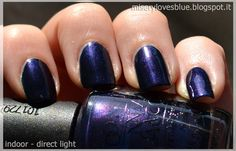 OPI Russian Navy  by QueenMiSeRy @ miserylovesblue.blogspot.it