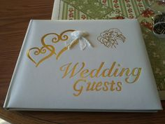 Disney Aladdin Wedding themed guest book from Ebay. Came with knife set, flutes and cake topper and pen. Aladdin Wedding, Flutes, Cake Toppers, Dream Wedding, Wedding Ideas, Book, Disney, Ebay, Weddings