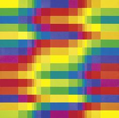 Fifteen Systematic Colour Sequences Within a Symmetrical System, 1950–65 ~ Richard Paul Lohse