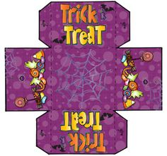 TRICK or TREAT?!?  (That's easy... we choose TREAT!)  Yep... it's FREEBIE time!!!  This adorable little 'Trick or Treat Box' will be just the thing for last minute party favors, school goodie hand-outs, office gifts, or a Halloween treat for the kiddoes. Very limited time! Available only through 10/29/14!