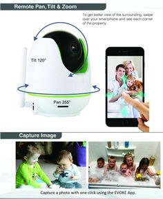 Evoke hi tech provide best wireless cctv camera for home security, Office security and many more. With Evoke CCTV Camera you can do many things possible. Wireless Cctv Camera, Wireless Security Cameras, Security Solutions, Home Security Systems, Cctv Camera For Home, Security Gadgets, Ip Camera, Hd Video, Type