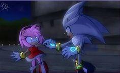 Silver The Hedgehog, Sonic The Hedgehog, Sonamy Comic, Sonic Fan Art, Amy Rose, Sonic Boom, Rainbow, Poses, Comics