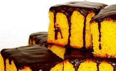 Receita bolo de cenoura com chocolate (Brazilian Food)
