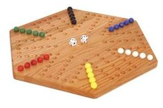 This game is a classic!  We had a home made board that my Uncle made. Many hours of playing this game with my cousins and aunts and my Grandma. Great memories!