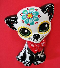Day Of The Dead Skeleton Kitty.