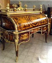 Louis XV rolo cilindro top Bureau Du Roi - o rei secretária