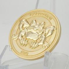frog image on custom challenge coins, polished with gold finish. So vivid. Custom Challenge Coins, Military Challenge Coins, Custom Coins, Military Branches, Free Design, 3d, Image