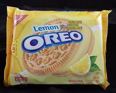 Oreo Lemon Creme Sandwich Cookies 15.25 oz Exp Apr 2016