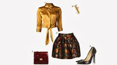 Check out and shop this look for inspiration at http://thefashionistastories.blogspot.com/2013/10/loppstyle-inspiration-date-night-chic.html