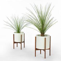 Case Study Planter w/ StandWhite - Modernica