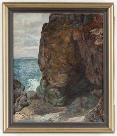 Bruno Hoppe  Rock cave  (Pharyah) Cave, Rock, Portrait, Artist, Painting, Headshot Photography, Skirt, Artists, Painting Art