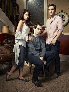 Being Human US - Season 2 - Meaghan Rath, Sam Witwer and Sam Huntington