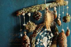 """Ловец снов """"Не ходи оленьими тропами... """" – купить в интернет-магазине на Ярмарке Мастеров с доставкой Hair Styles, Crafts, Beauty, Beautiful Things, Bonito, Hair Plait Styles, Manualidades, Hairdos, Hair Looks"""