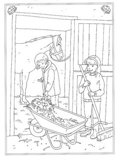 Coloring pages of Horses on Kids-n-Fun. More than coloring pages. At Kids-n-Fun you will always find the nicest coloring pages first! Horse Coloring Pages, Colouring Pics, Cool Coloring Pages, Adult Coloring Pages, Coloring Pages For Kids, Coloring Books, Horse Camp, Horse Crafts, Show Horses