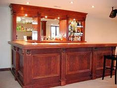 Buy DIY Home Bar Plans