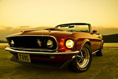 1969 Ford Mustang Convertible.
