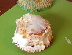omgekeerde cupcake boomstam taart