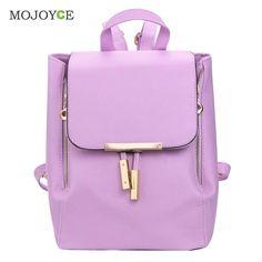 Fashion PU Leather Backpack Women Mochila Backpacks for Teenage Girls School Bags for Teenagers Bagpack Mochilas Mujer 2016