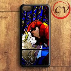 Sleeping Beauty Stained Glasses iPhone 5C Case