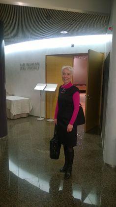 Vierailu eduskunnassa kansanedustaja Anne Holmlundin kutsusta.