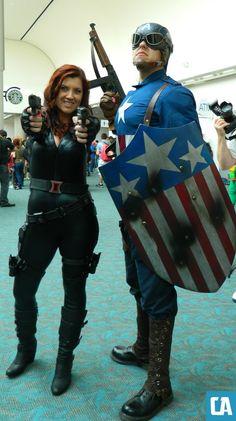 Comic-Con Cosplay: Captain America