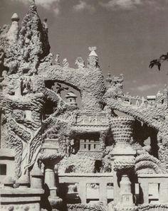 Détail du Palais Idéal aprés restauration, ph Clovis Prévost.jpg
