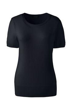 Women's Short Sleeve Supima Sweater