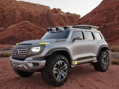 Benz concept SUV posted by KBB