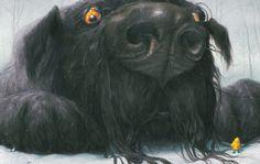 Black Dog by Levi Pinfold | tygertale