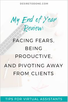 Doing client work is not your only option for making money as a virtual assistant. Read how my business has changed over the last five years. Home Based Business, Business Tips, Online Business, Facing Fear, Virtual Assistant Services, Work From Home Tips, End Of Year, Time Management Tips, How To Make Money