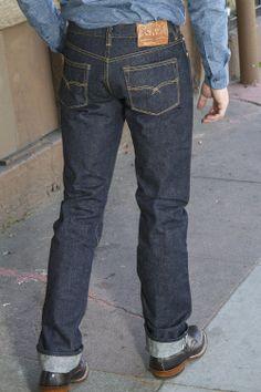 Old Blue Co. 21 oz Raw Jeans - Massdrop
