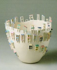 Elvira Keller, Mino, 11th. Int. Ceramic Competition