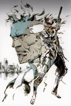 """""""Metal Gear Solid: MGS2 page 021"""""""
