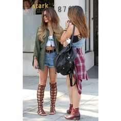 Vanessa and Stella Hudgens ❤ liked on Polyvore featuring vanessa hudgens and outfit