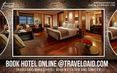 Traveloaid Makes Hotel Booking Easier and Simpler. Call us at to book hotels online with exciting offers & deals. Feel free to contact us anytime as every customer is our priority. Book Hotel Online, Flight And Hotel, Hotel Deals, Travel Agency, Hotels, Simple, Easy, Books, Free