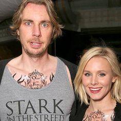Game of Thrones obsessives Dax Shepard and Kristen Bell don superfan apparel for season 6 screening http://shot.ht/1qKhemZ @EW