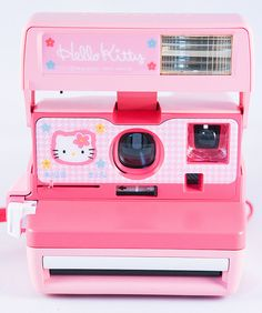 Hello Kitty Polaroid Camera