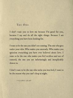 (C) Lang Leav