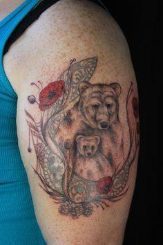 bear tattoo   Tumblr