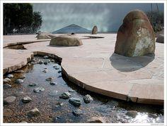 Isamu Noguchi Park In Costa Mesa, CA by Mandana Fard