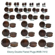 Plug earrings size chart descargar