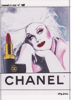 The Chanel x 666 series by artist Roberta Marrero   GRAVERAVENS