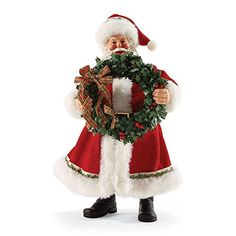 Department 56 Possible Dreams by Front Door Decor Santa 10.5 In * Review more details @