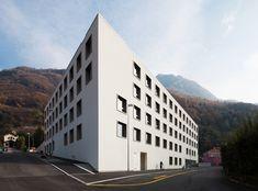 Gallery of Nursing and Retirement Home Bellinzona / Studio Gaggini + Nicola Probst Architetti - 1