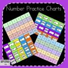I use these easy little practice charts in my math groups. There are four different charts to choose from: 1-30 in order and mixed, and 1-20 subiti...